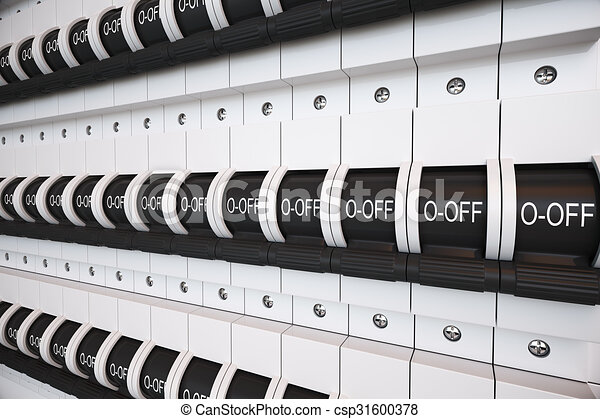 trip switch fuse box switches off position electricity power rh canstockphoto com fuse box clip art