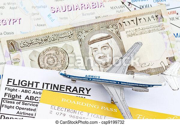 Trip to Saudi Arabia - csp9199732