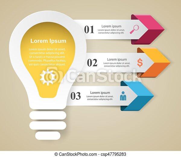triple, style, illustration., cle, vecteur, musique, infographics, origami - csp47795283