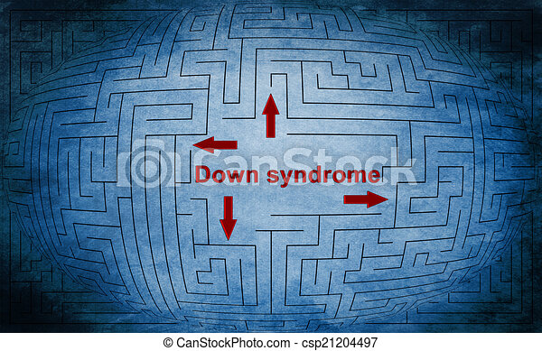 trisomie - csp21204497