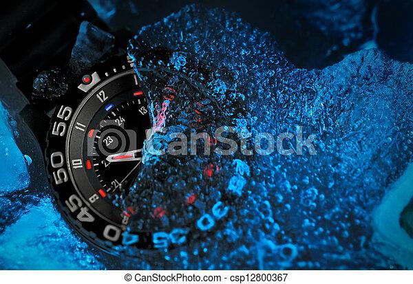 Tritium military watch - csp12800367
