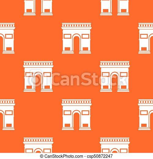 Triumphal arch pattern seamless - csp50872247