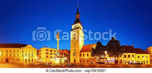 Trnava square - Slovakia city - csp15910261