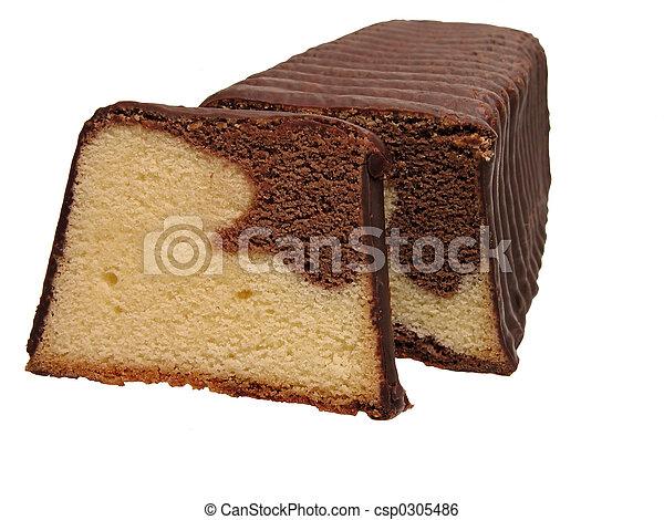 Trocken Kuchen Trocken Aus Freigestellt Hintergrund Kuchen