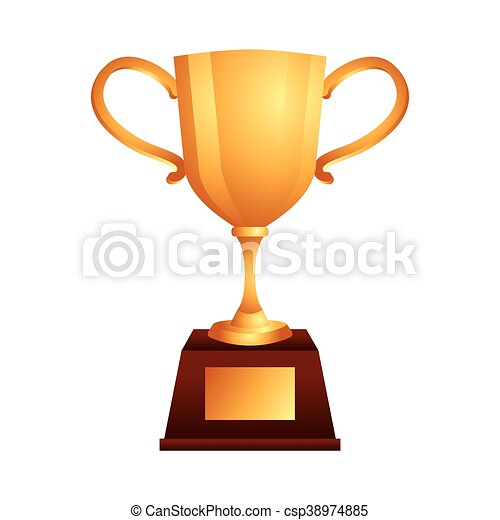 El icono del premio Trophy - csp38974885