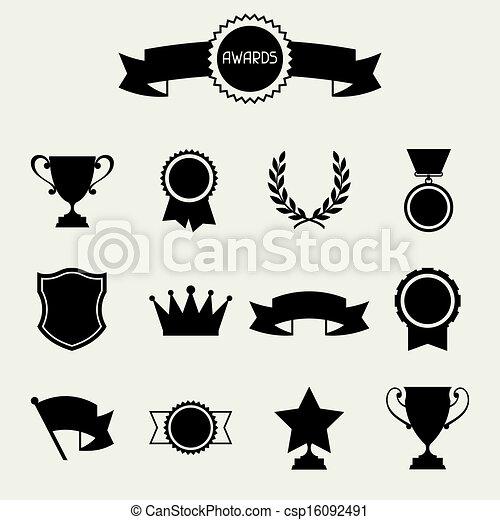 Trofeo y premios. - csp16092491