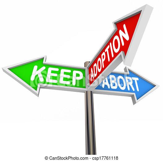 trois choix avorter adoption grossesse garder options clipart recherchez. Black Bedroom Furniture Sets. Home Design Ideas