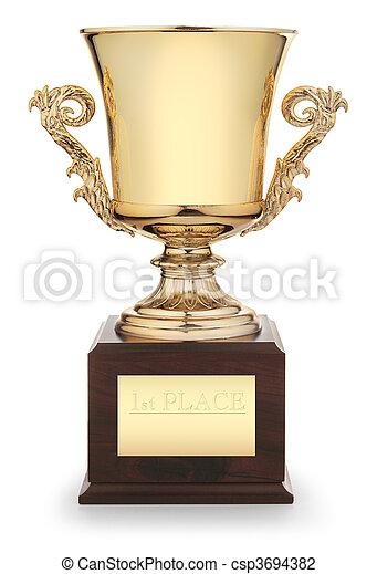trophée, tasse - csp3694382