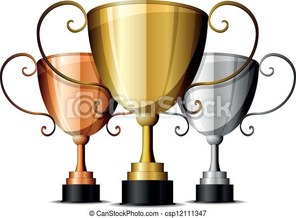 trophies - csp12111347