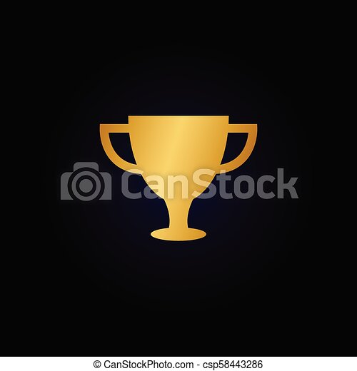 trophy cup graphic template vector search clip art illustration