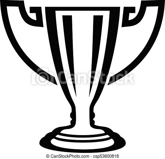 Trophy Icon Simple Black Style