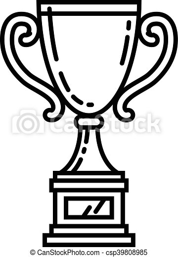 Trophy vector illustration - csp39808985