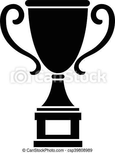 Trophy vector illustration - csp39808989