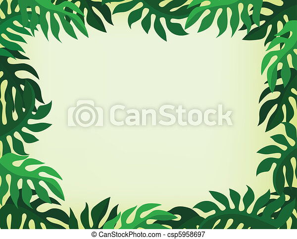 tropical  background - csp5958697