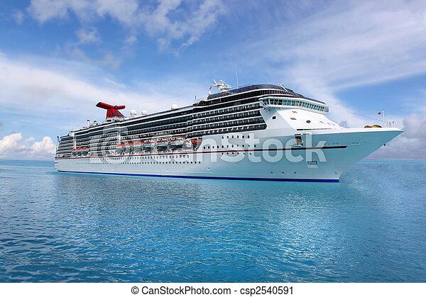 tropical, barco - csp2540591