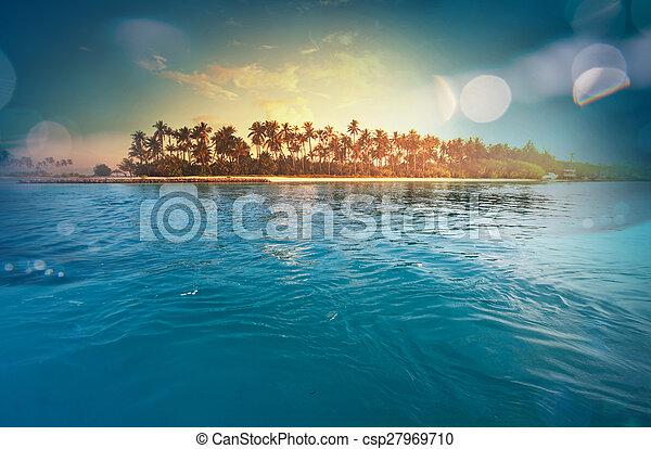 Tropical beach - csp27969710