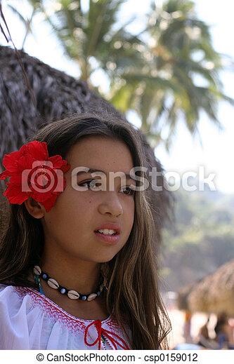 Tropical beauty - csp0159012