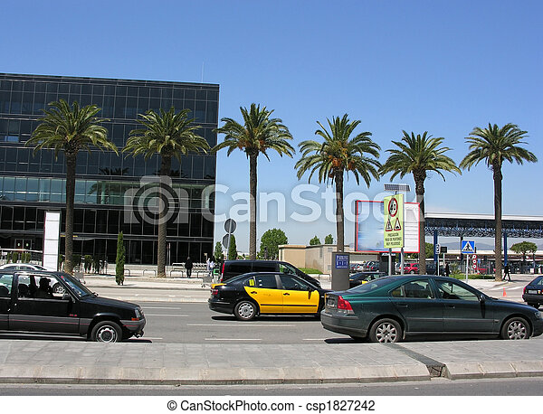 tropical city - csp1827242