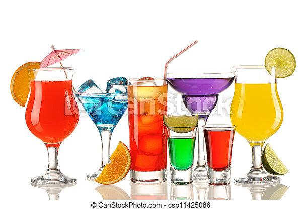 Tropical cocktails - csp11425086