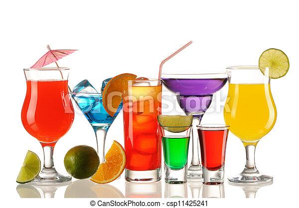 Tropical cocktails - csp11425241