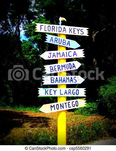 Tropical Destinations - csp5560291