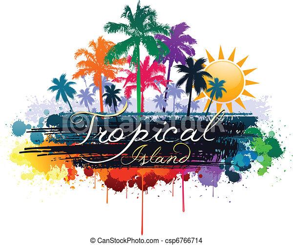 Tropical - csp6766714