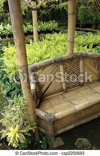 tropical garden - csp2200693