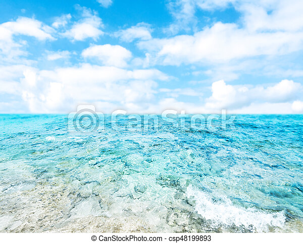 Tropical Holiday Background Beautiful Summer Vacation And Business