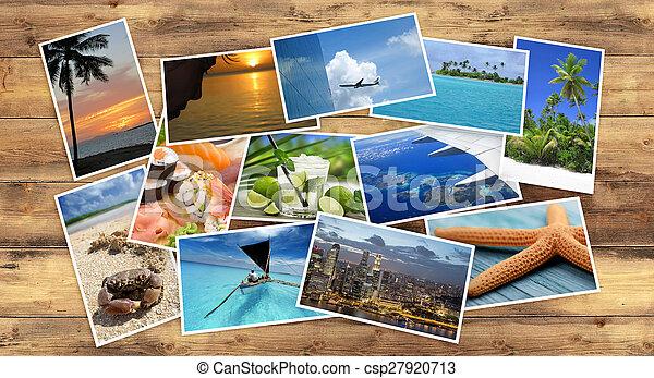 tropical, imágenes, colección - csp27920713