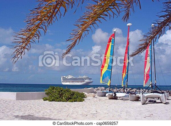 tropical island cruise - csp0659257
