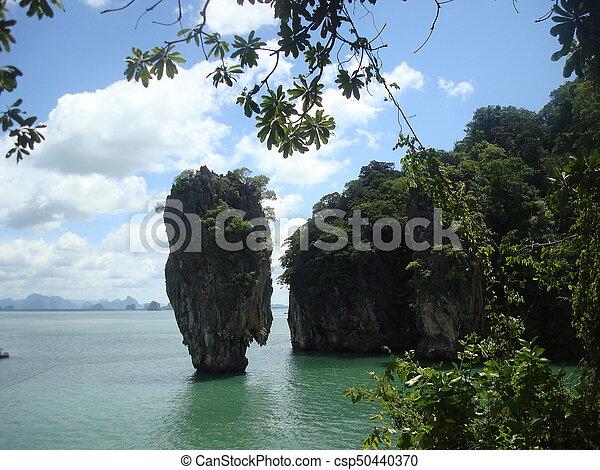 Tropical island - csp50440370