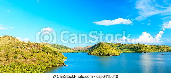 Tropical lagoon - csp6415040
