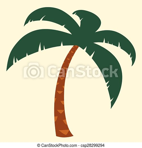Tropical Palm Tree Illustration Silhouette Illustration Of Tropical