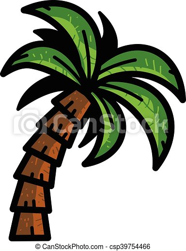 tropical palm tree vector clip art vector search drawings and rh canstockphoto com tree vector art black tree vector art png