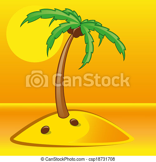tropical palm - csp18731708