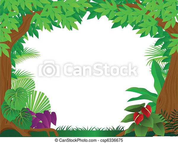 tropical rainforest background rh canstockphoto com tropical rainforest animals clipart Rainforest Insects Clip Art