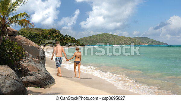 Tropical romance - csp3695027