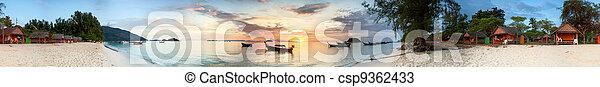 tropical sunrise - csp9362433