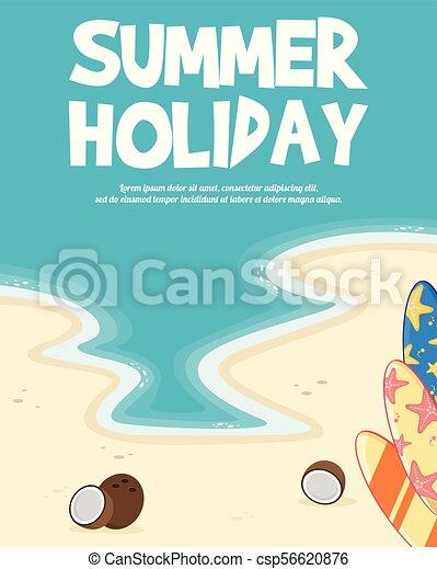 Un concepto de vacaciones tropicales - csp56620876