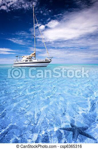 tropicale, laguna - csp6365316