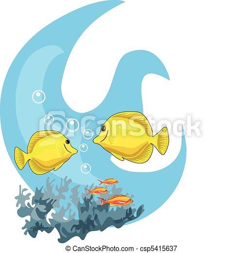 tropikalny, wody - csp5415637