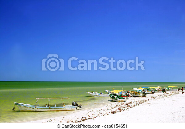 tropikus, tengerpart - csp0154651