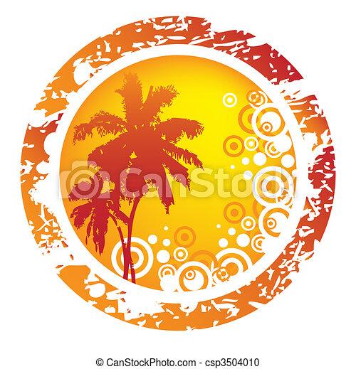 tropische , hintergrund - csp3504010