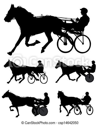 Trotter Vector Clip Art Eps Images 266 Trotter Clipart Vector