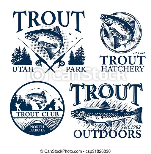 Trout fishing  - csp31826830
