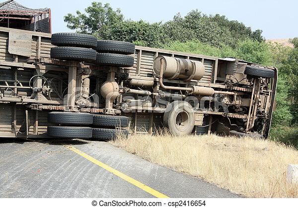 Truck Accident - csp2416654