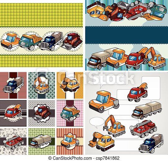 truck card - csp7841862