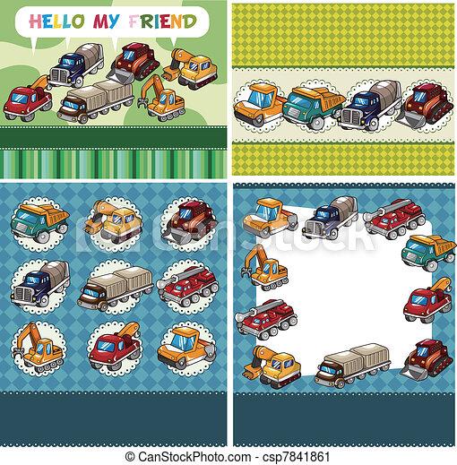 truck card - csp7841861