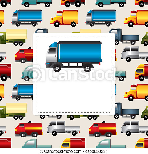 truck card - csp8650231