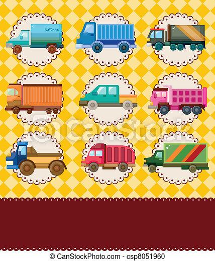 truck card - csp8051960